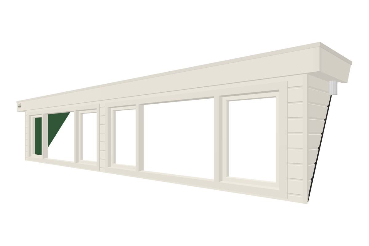 Online dakkapel ontwerpen van 6 meter wit