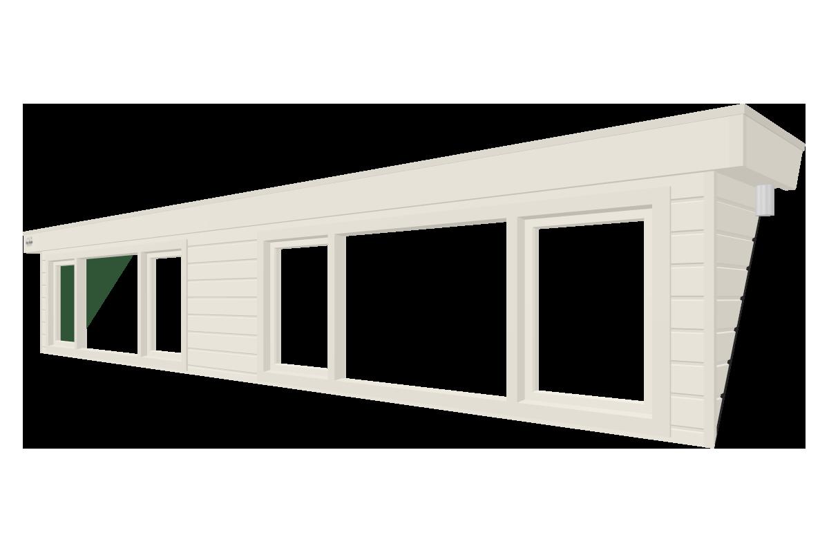 Online dakkapel ontwerpen van 7 meter wit
