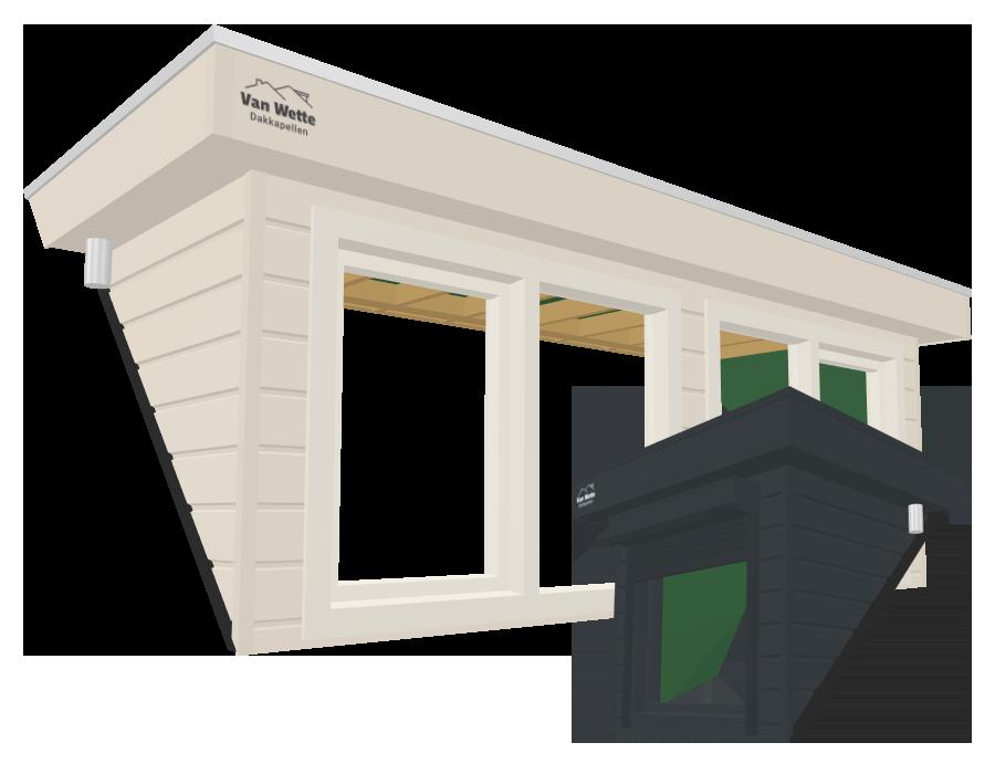 Online dakkapel ontwerpen in 3D